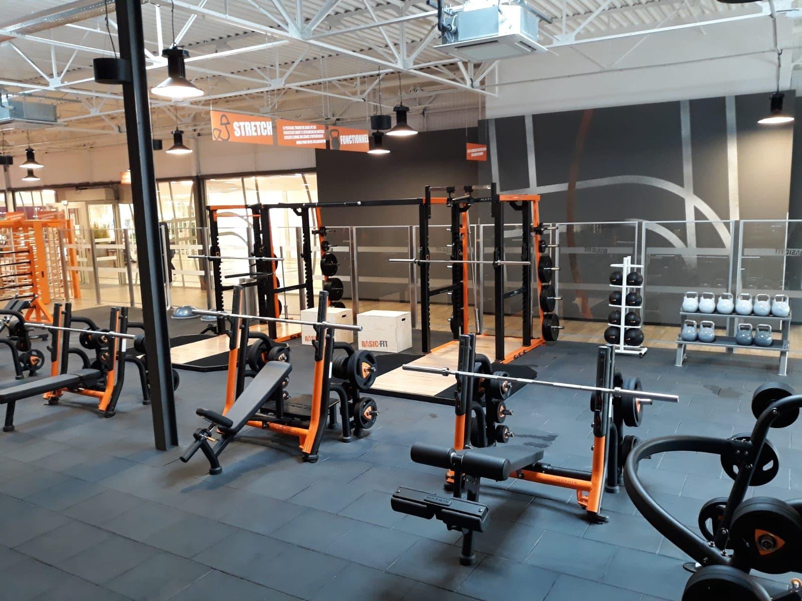 Basic Fit Salle De Sport Centre Commercial Carrefour Herouville